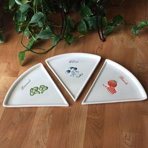Pottery Barn Pizza Buono Plates